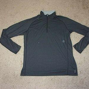 Columbia Titanium Half Zip Shirt Men's Gray
